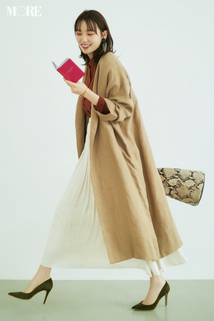ベージュコーデ特集(20代後半女子向け)- 春におすすめのワンピースやスカート、靴などのコーディネートまとめ_9