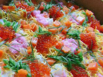 夏の夜には『ちらし寿司』レシピ紹介