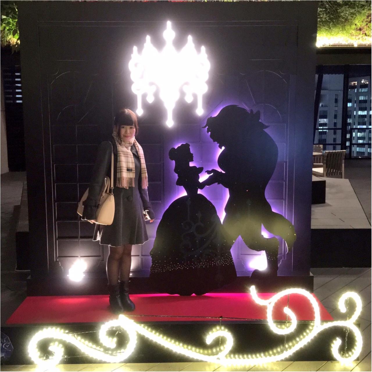 ディズニー映画『美女と野獣』がテーマの 『TOKYU PLAZA GINZA CHRISTMAS 2016』を写真たっぷりでご紹介しちゃいます♡_12