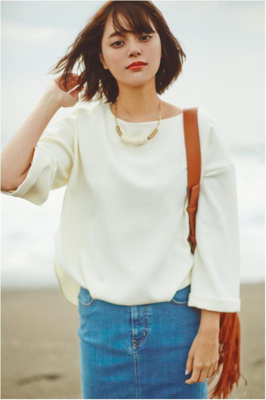 【セシルが着る白が素敵すぎる】春を呼ぶエクリュカラーに注目_1