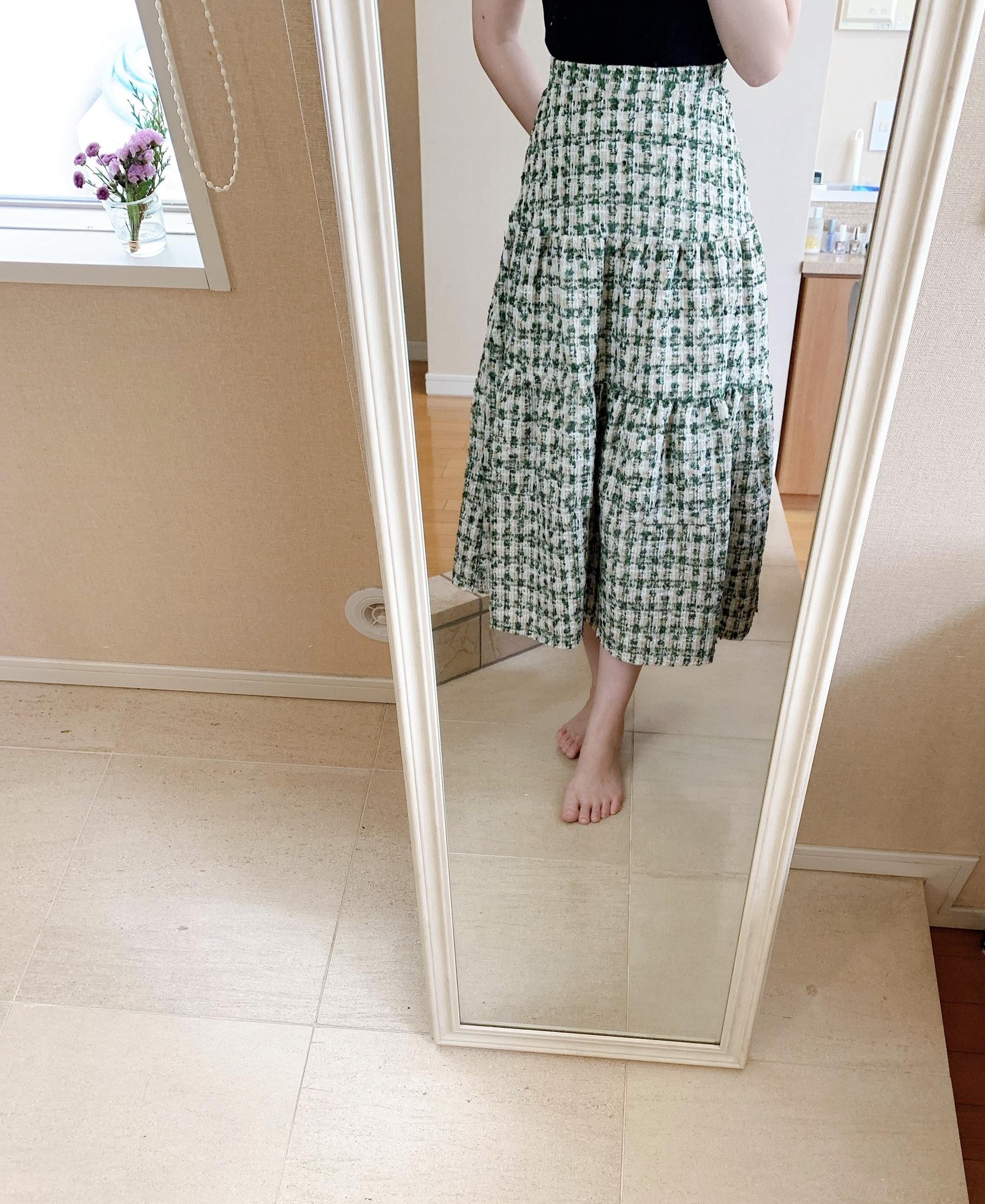 【秋のプチプラ】BIRTHDAY BASHのスカートがかわいい_1