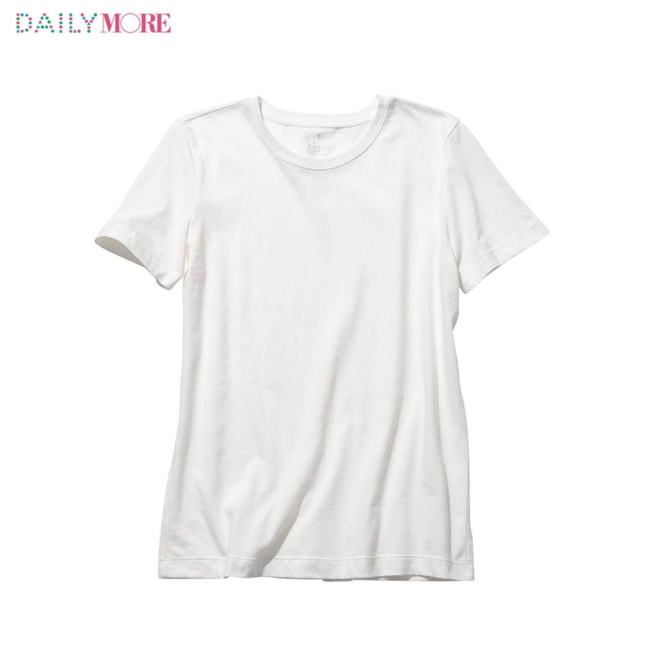 シルエットも素材もこだわりまくりの4タイプ!!【無印良品】の白Tシャツのここがスゴイ!_2_1
