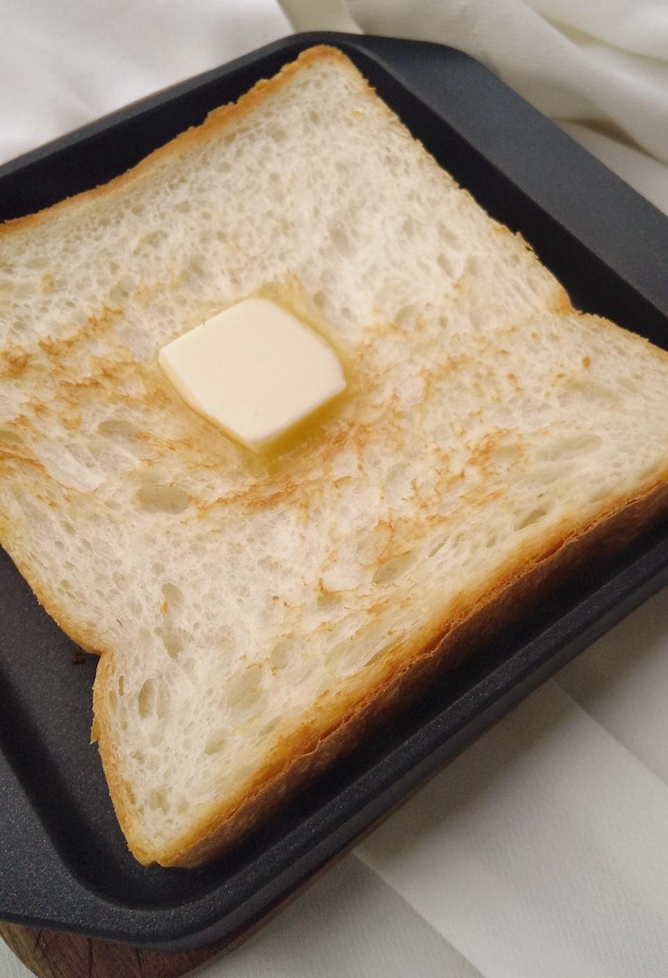 【衝撃的な美味しさのトーストに!!】sumitoasterで、いつもの食パンが高級食パンに!??_6