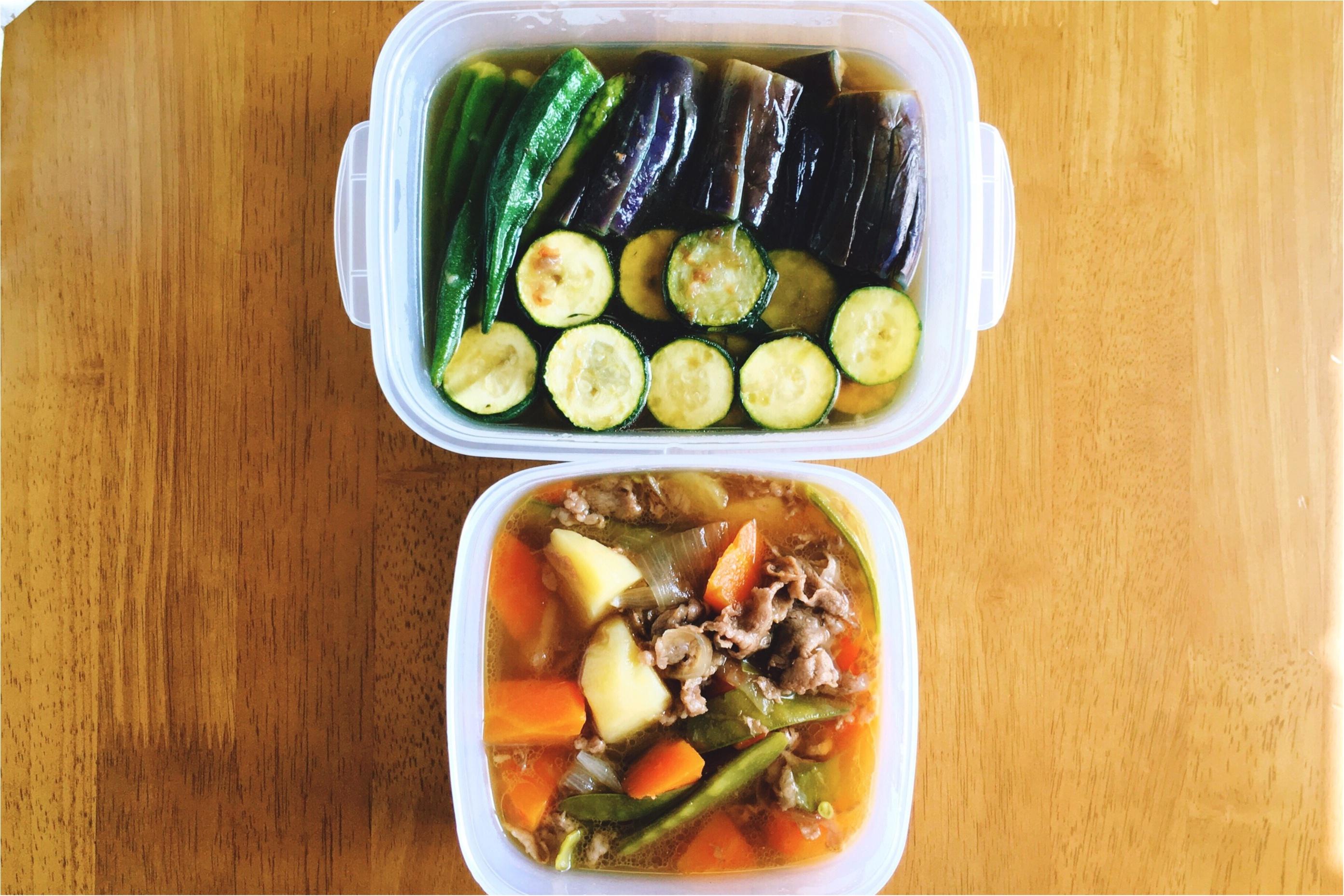 ごはんにお弁当に常備菜*今週の作りおきおかず_2