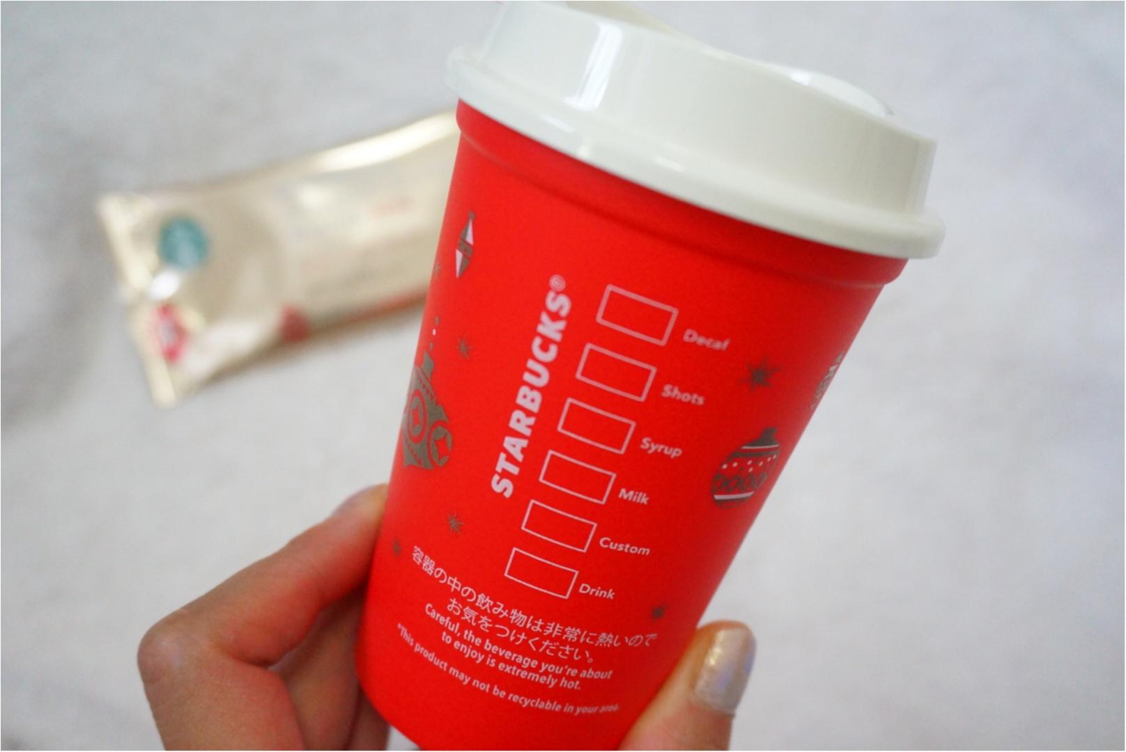 大人気アイテム!【スタバ】リユーザブルカップのクリスマス限定デザインが可愛すぎる❤️_4
