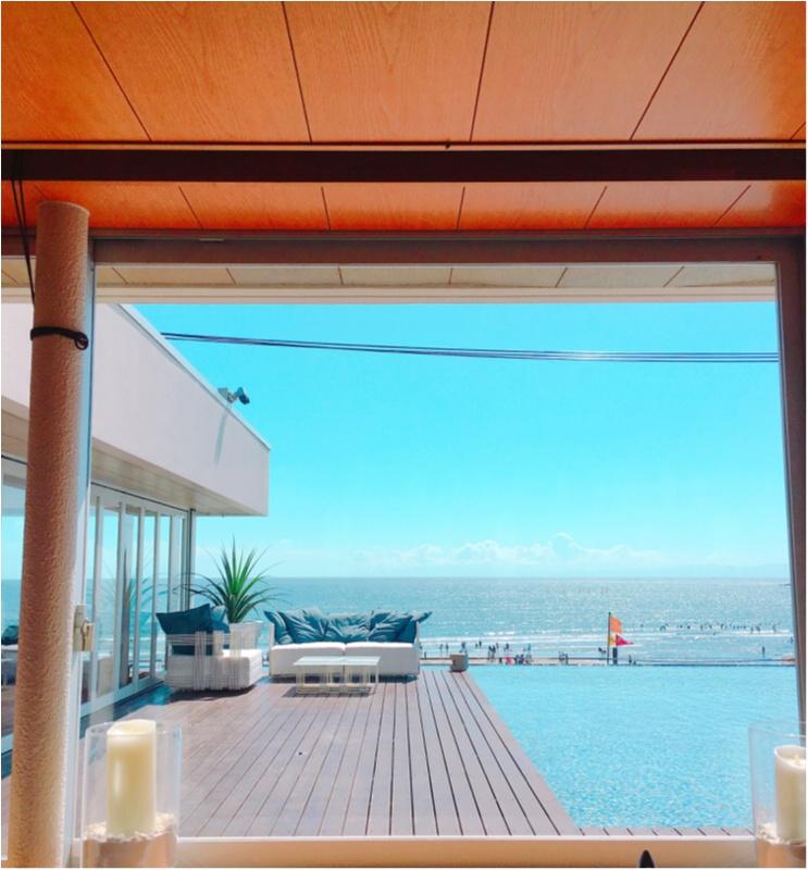 日本一の絶景が望めるカフェの全貌とは?♡夏季限定でオープンしているアマンダンブルー鎌倉へ♡byじゅな_12