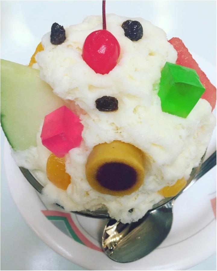 【氷白熊】鹿児島に行ったらコレ食べなきゃ!!オススメのお店は白熊の本家『天文館〇〇〇〇』≪samenyan≫_5