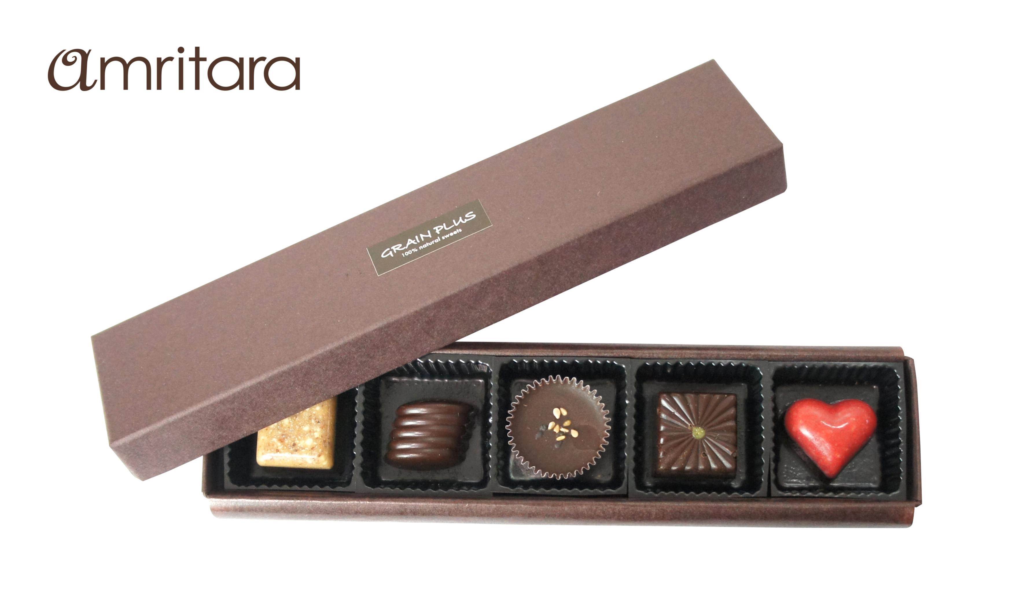 『アムリターラ』のローチョコレートで心も体も喜ぶ♬ _1
