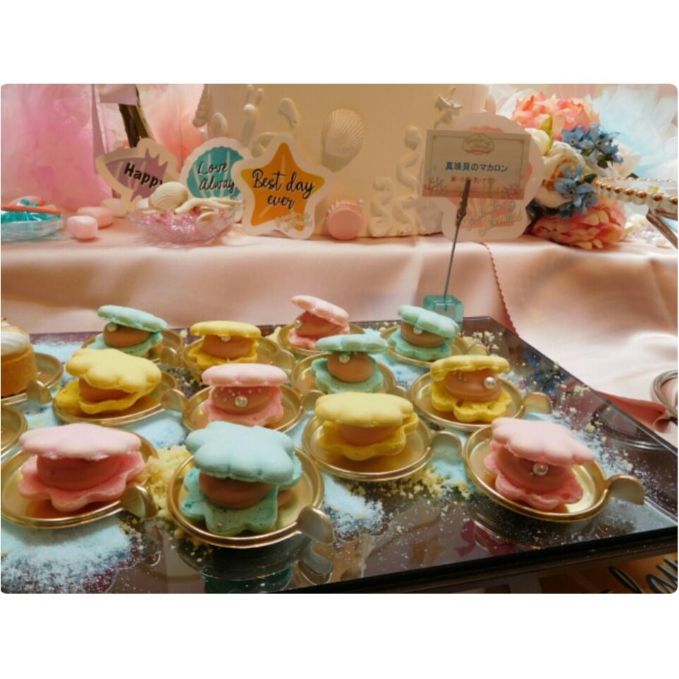 《可愛いすぎる♡♡♡》プリンセスマーメイドスイーツパーティで素敵な時間を♡_9