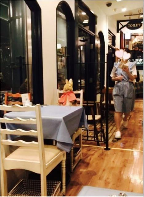 《絵本の世界でディナーを堪能★》イギリスのガーデンカフェで、ピーターラビットと一緒に食事が楽しめちゃいます♡♡_4