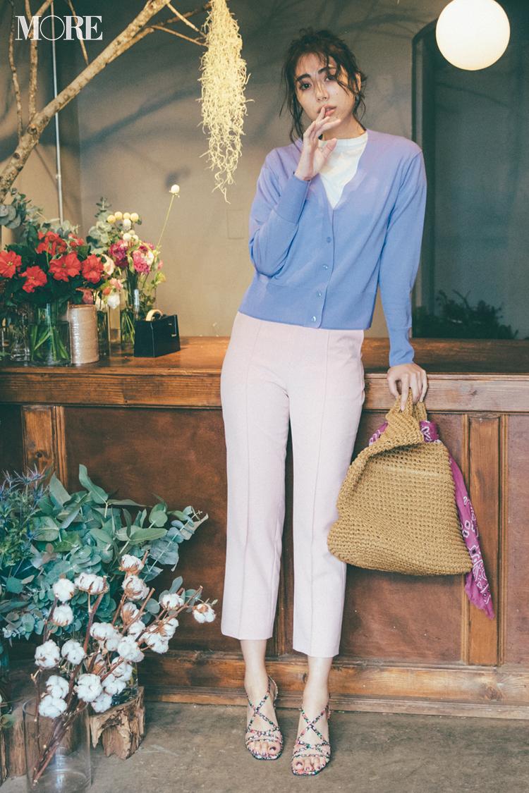 『ミラ オーウェン』特集 | 上品な花柄が大人っぽくておしゃれ! 20代女子におすすめの春コーデ_1_8