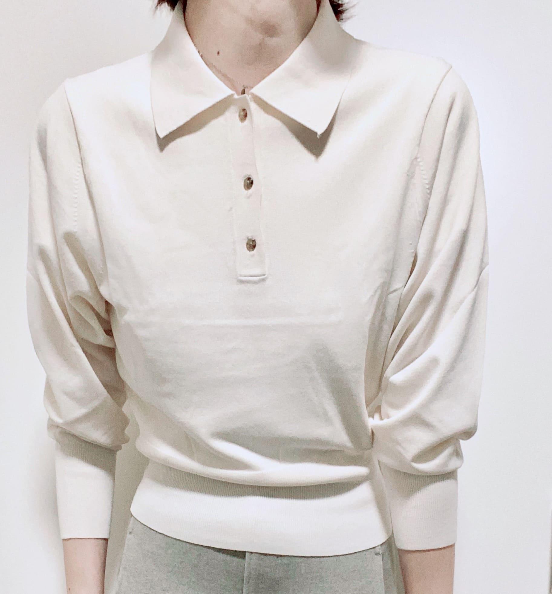 《ユニクロのおすすめアイテム》ニットポロシャツ
