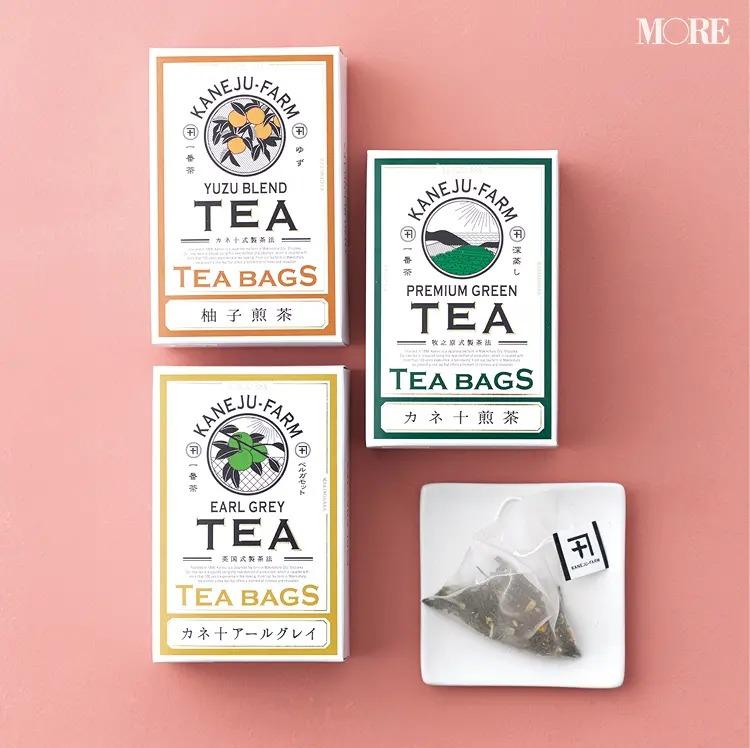 カネ十農園の煎茶3種