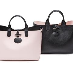 『ロンシャン』の新作バッグは、こんなにキレイなのにリバーシブル!
