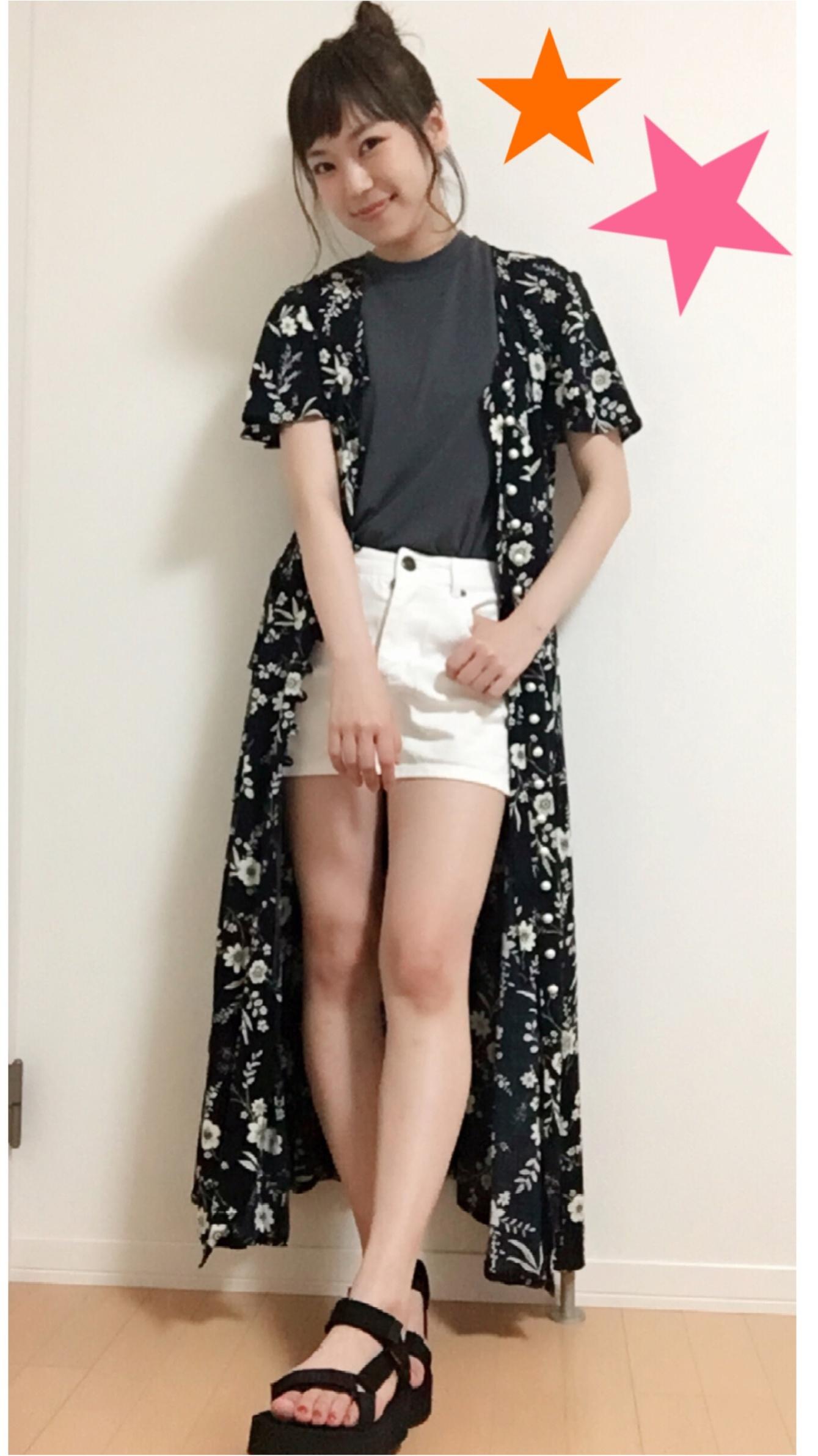 ★《白T×デニム+α》夏のファッション方程式♩♩_3