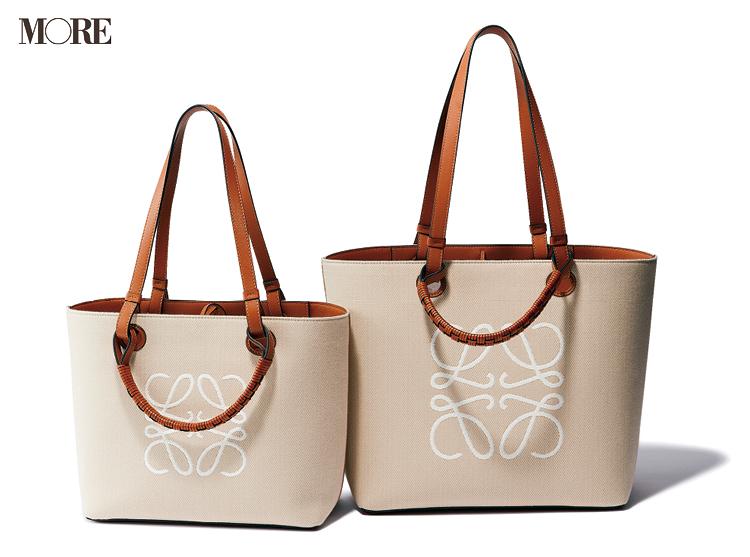 ロエベのキャンバスバッグ、トートバッグ