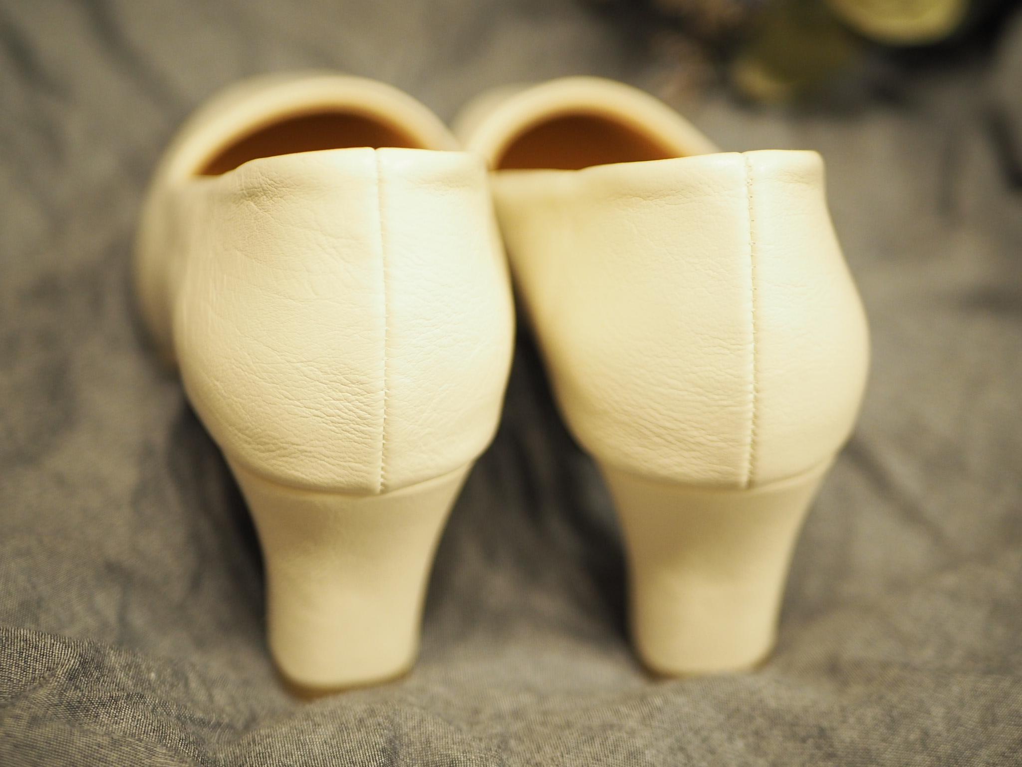 【プチプラ春靴】ホワイトカラーの《スクエアトゥシューズ》❃❃❃_5