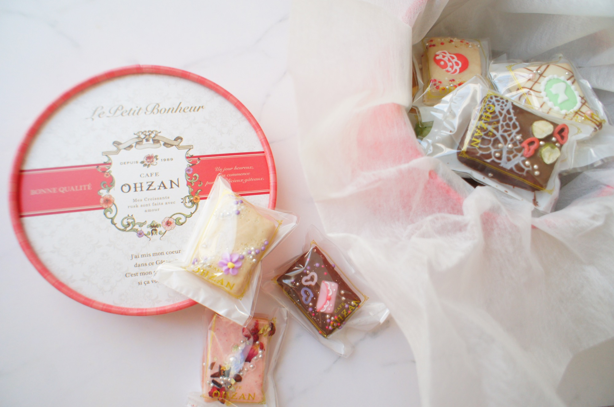 《ご当地MORE✩東京》絶対喜ばれる手土産❤️まるで宝石箱!【OHZAN】プティボヌールショコラが可愛すぎる☻_3