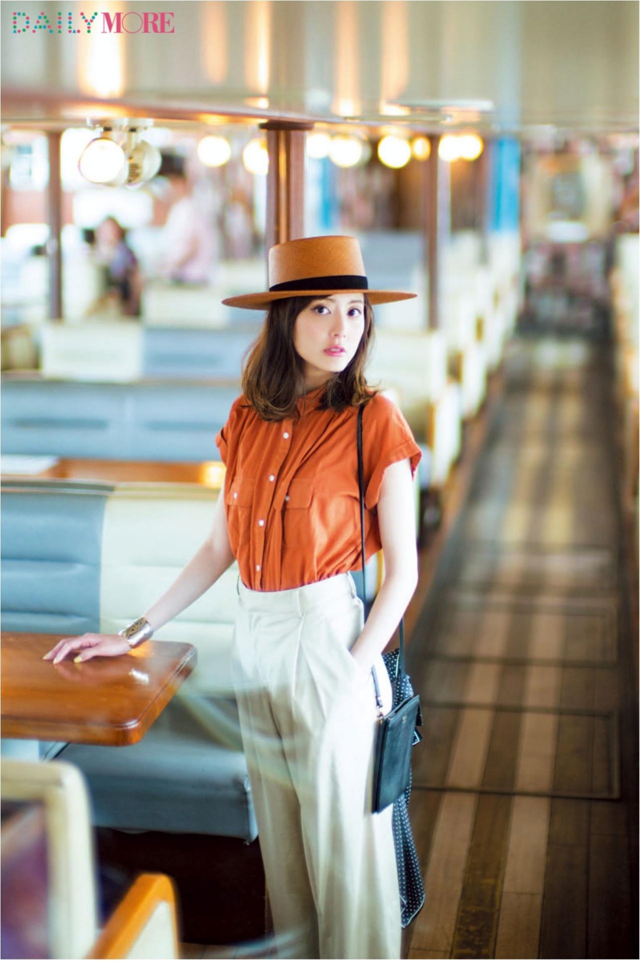 いつもの服が一気にフレンチムードに♪ お茶目な「カンカン帽」コーデまとめ♡_1_8