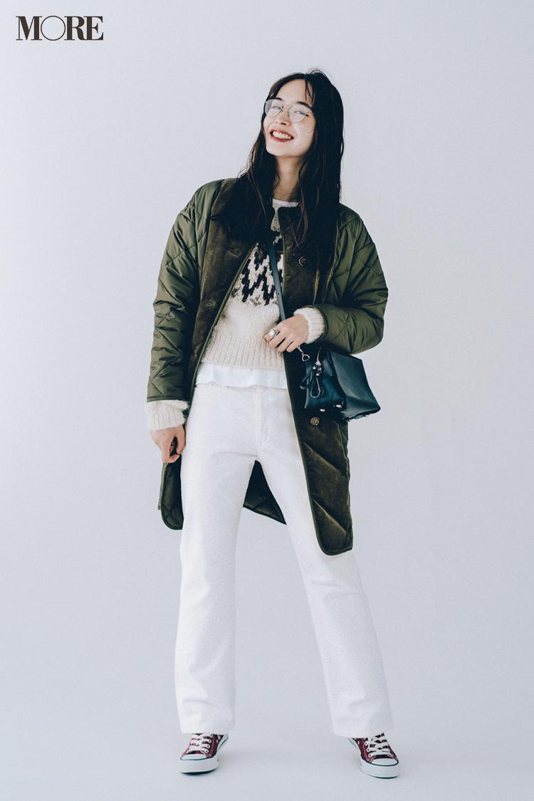 20代女子に似合う【きれいめの服×スニーカー】のコーデまとめ | ファッション_1_1