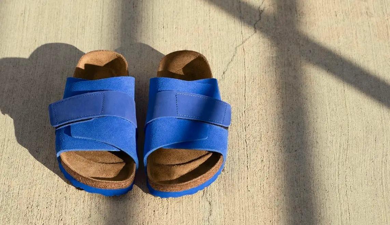 【人気ブランドの新作レディースサンダル】ビルケンシュトックの新作「KYOTO」ブルー