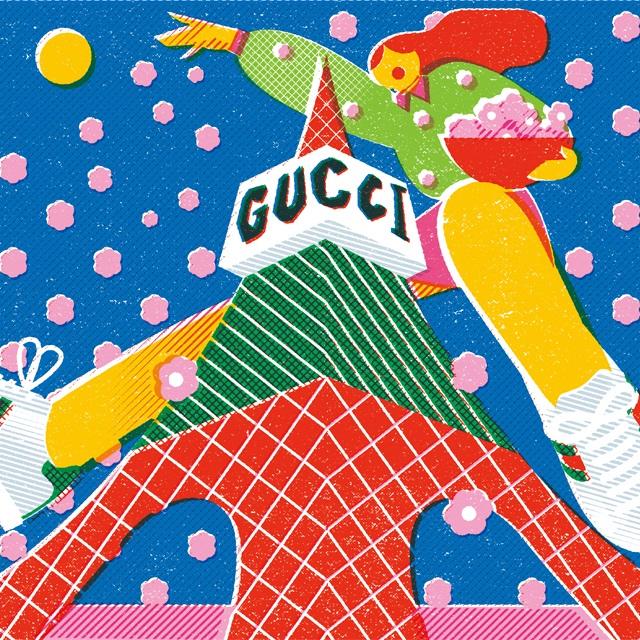グッチ×東京タワーのイベント「GUCCI HANAMI」