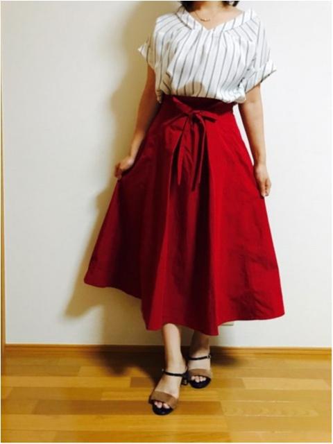 【index】2wayで着られる《リボン付きフレアスカート》着回しやすさ◎です!_2