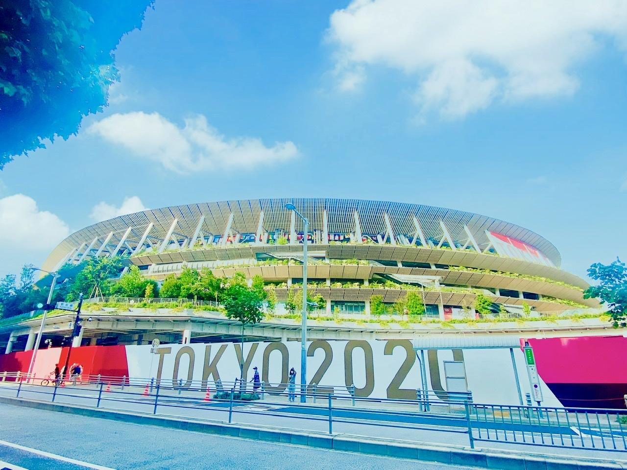 東京オリンピック 新国立競技場