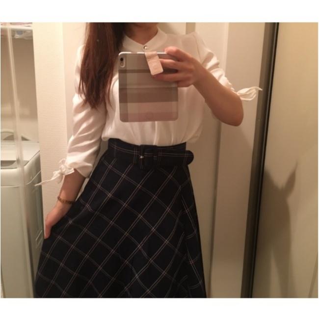 今年の流行!♥ミディ丈スカートで作る♡通勤コーデ4選(っ´ω`c)♡_3