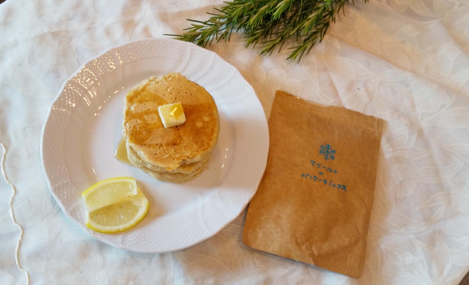 《おうちカフェ》卵も牛乳も不使用!マリールゥのパンケーキミックスで、幸せおうち時間_1