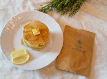 《おうちカフェ》卵も牛乳も不使用!マリールゥのパンケーキミックスで、幸せおうち時間