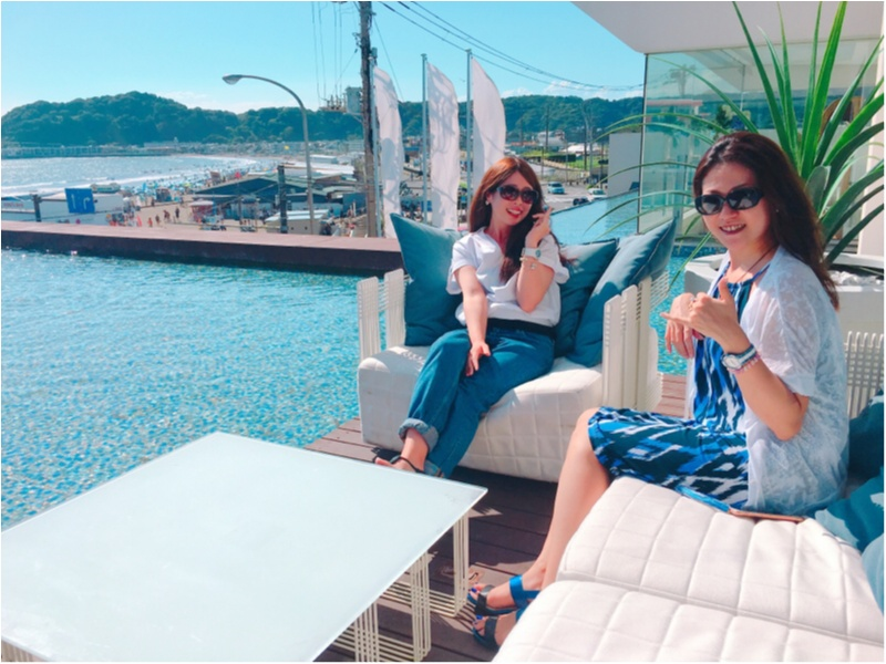 日本一の絶景が望めるカフェの全貌とは?♡夏季限定でオープンしているアマンダンブルー鎌倉へ♡byじゅな_14