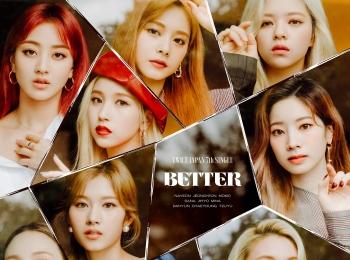 TWICEの日本7thシングル『BETTER』、先行配信スタート &ミュージックビデオ公開! 秋らしいファッションにも注目♡ photoGallery
