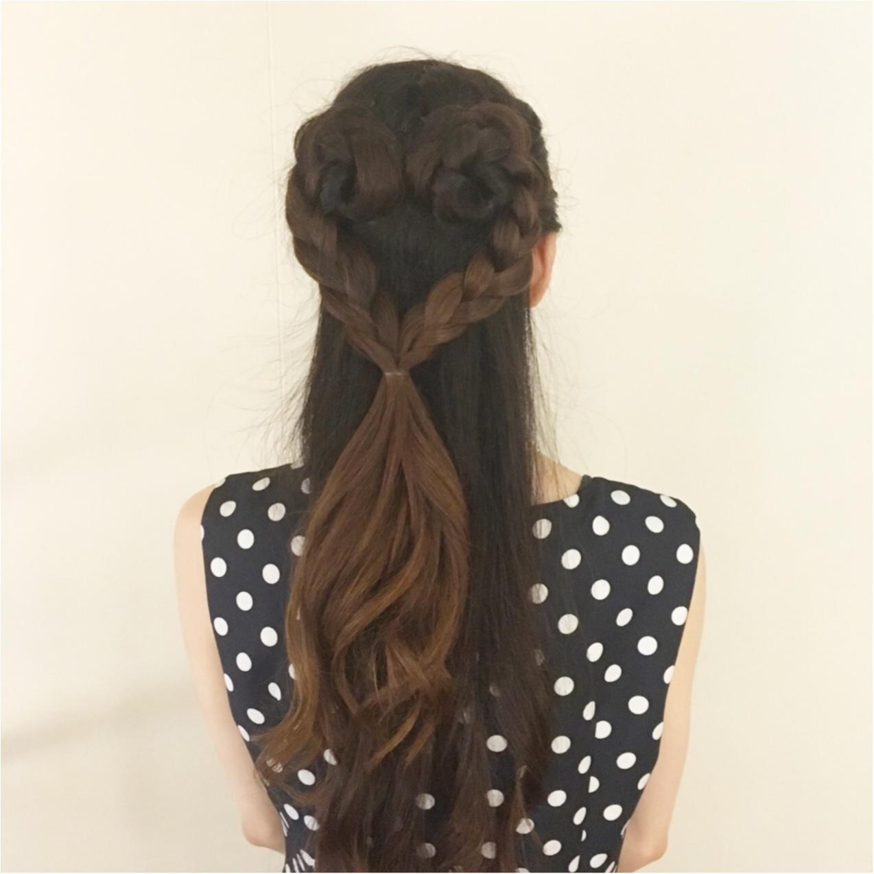 まさにアート♡かわいい結婚式お呼ばれヘア♡《 ハートの髪型 》_2