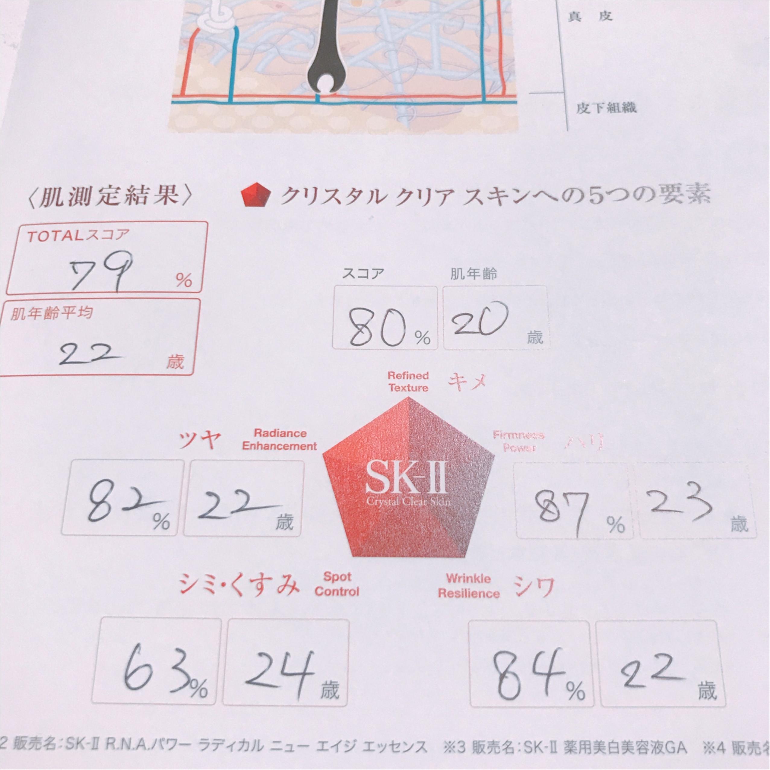 【28歳、SK-Ⅱデビュー♡】肌年齢診断の結果も公開しちゃいます!_3