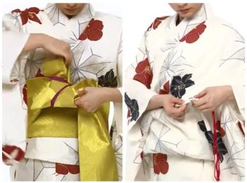 【わかりやすい動画付き】浴衣のセルフ着付け・帯の結び方 - 一人でできる! 女性の浴衣の着方は?