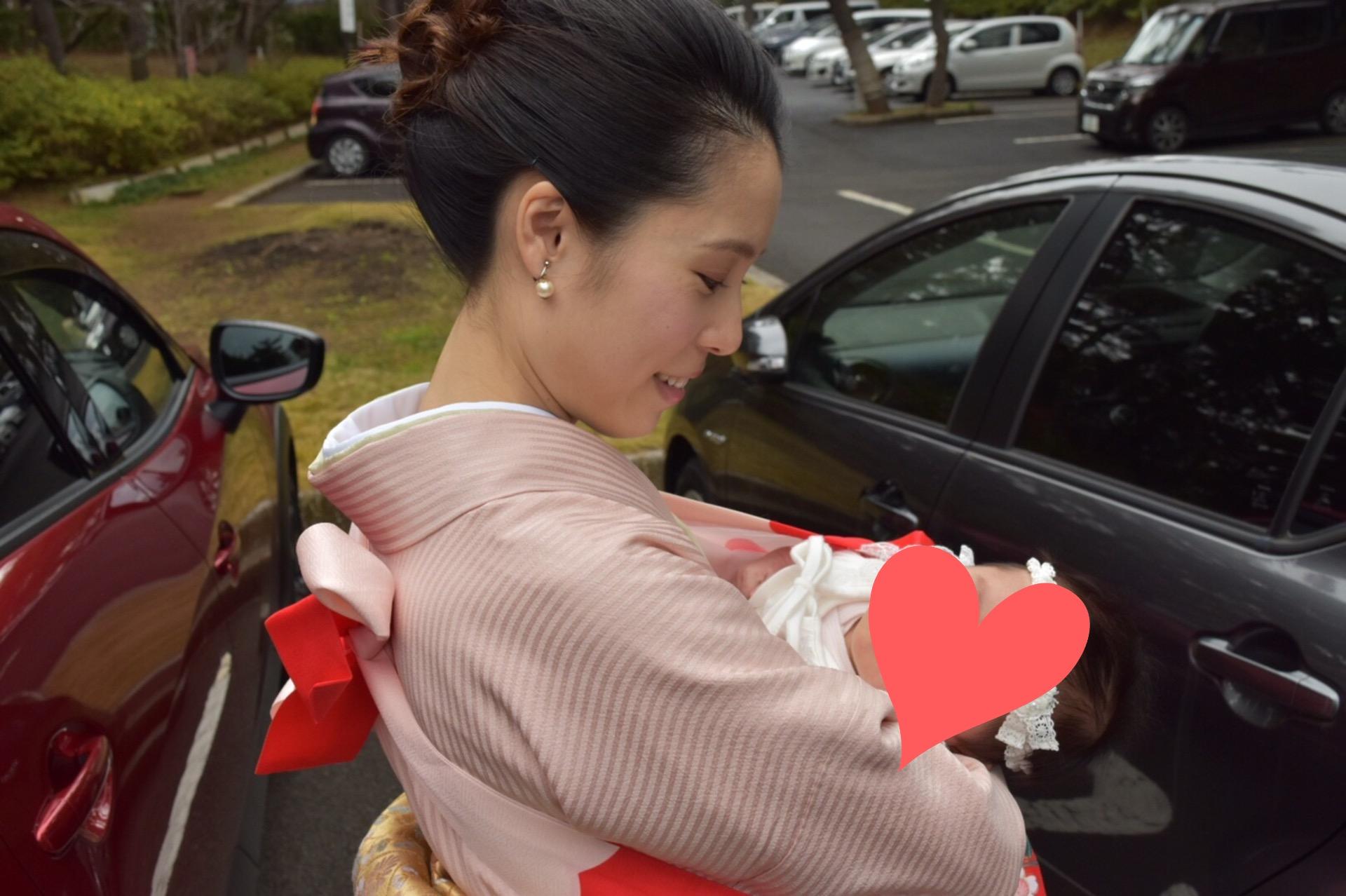 お宮参りへ行ってきました♡_3