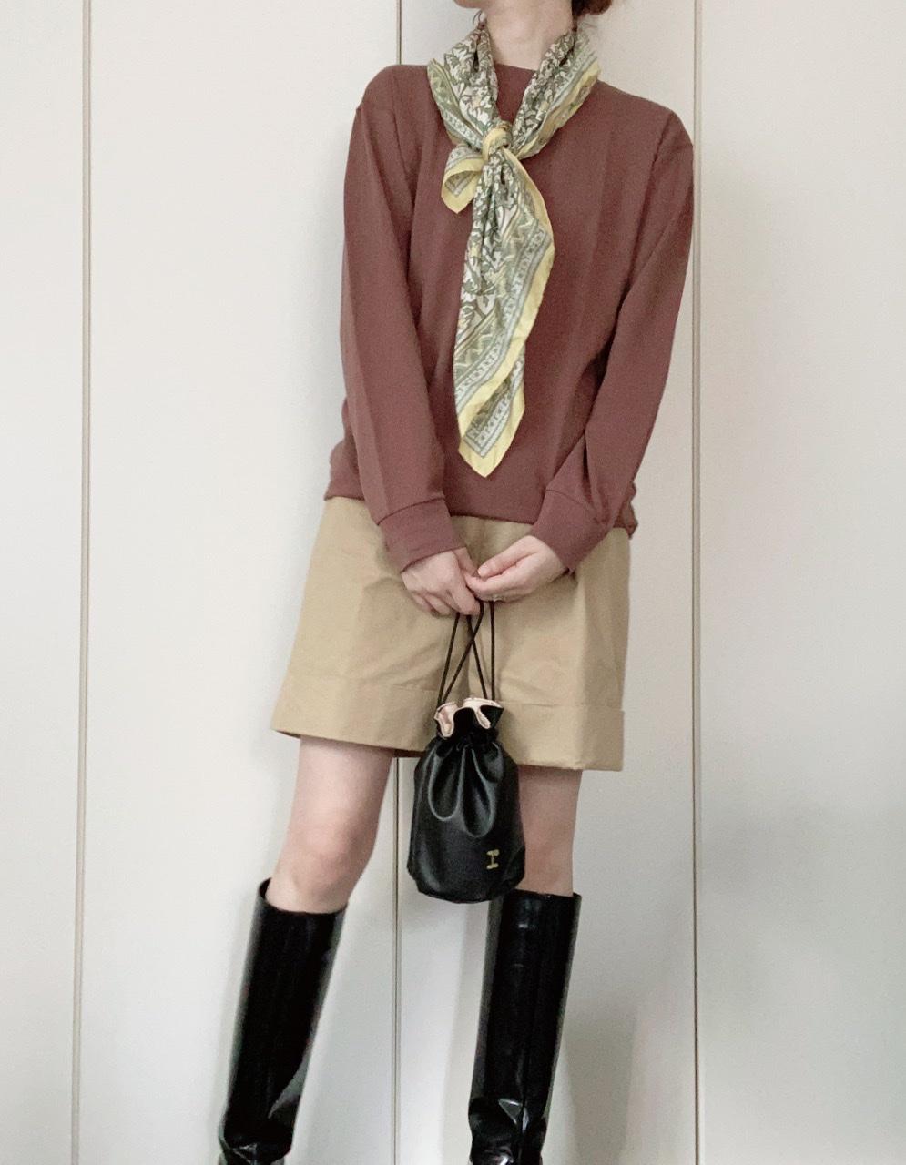 『ユニクロ ユー』ヒートテック発売記念! ライターみかりんがガチ私服で着回し♪ メンズアイテムはどう着こなす?_10