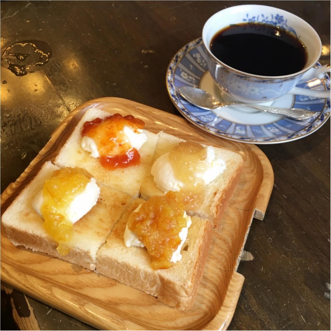 名古屋モーニングで素敵な一日の始まりを♡ 《 コーヒーハウス かこ 》_4