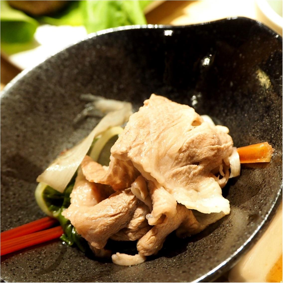 お肉と旬野菜のマリアージュ♡ふうふう亭 緑席_14