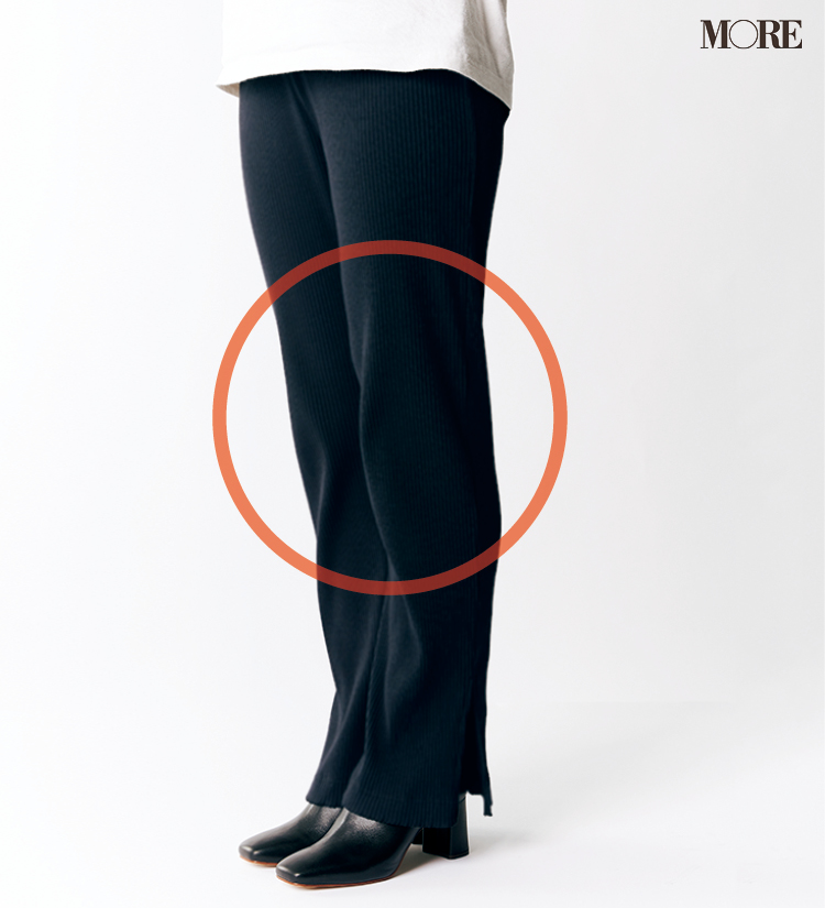テーパードパンツ&フレアパンツ、どの靴と合わせるのがいちばんきれい? 全部の相性比べてみました!_6_3