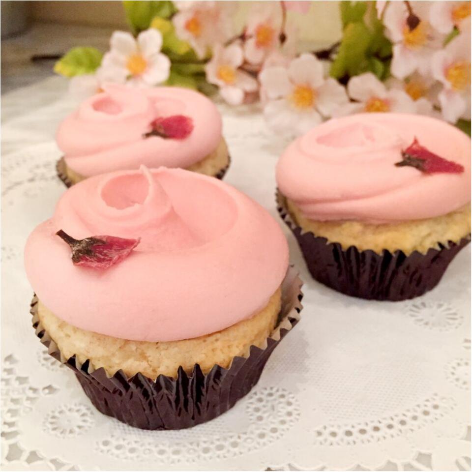 おしゃれお花見に欠かせない! 『マグノリアベーカリー』のカップケーキ♡_1