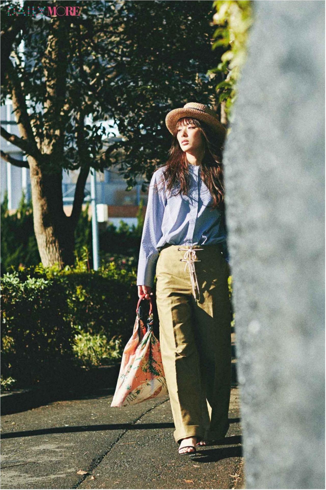 紫外線対策もオシャレにね♪【帽子】を使った春夏コーデまとめ♡_1_16