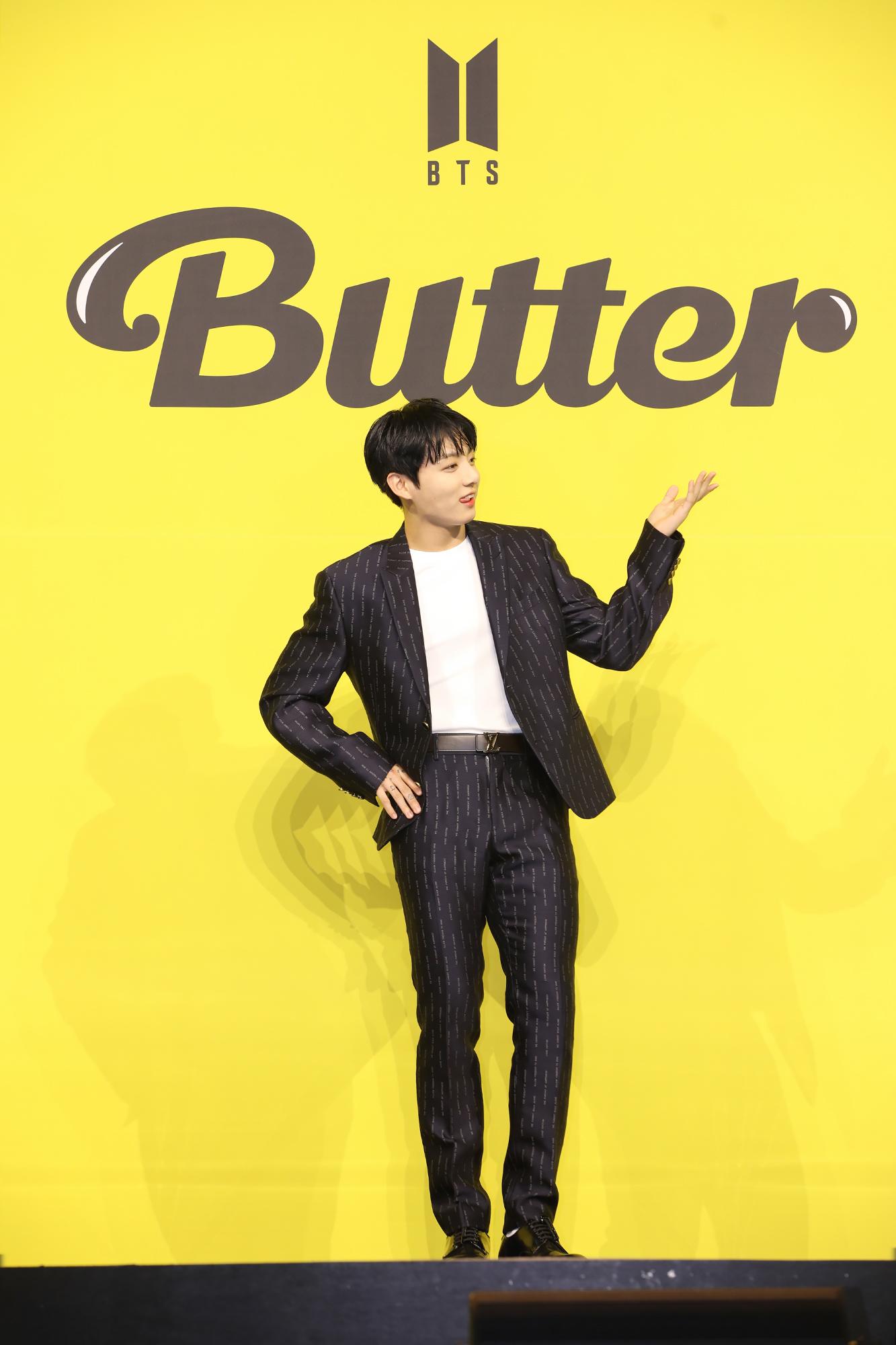 "【BTS 会見写真16枚!】""お気に入りは自分のパート""合戦勃発!? 「Butter」発売記念 グローバル記者会見 PhotoGallery_1_10"