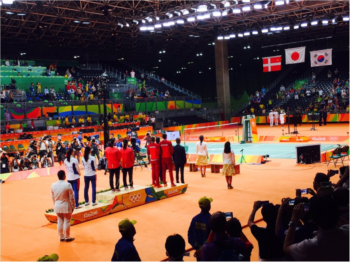 タカマツペア金メダルおめでとう!! 生で観た日本バドミントン史上初の瞬間と、本当に重かった金メダル!_2