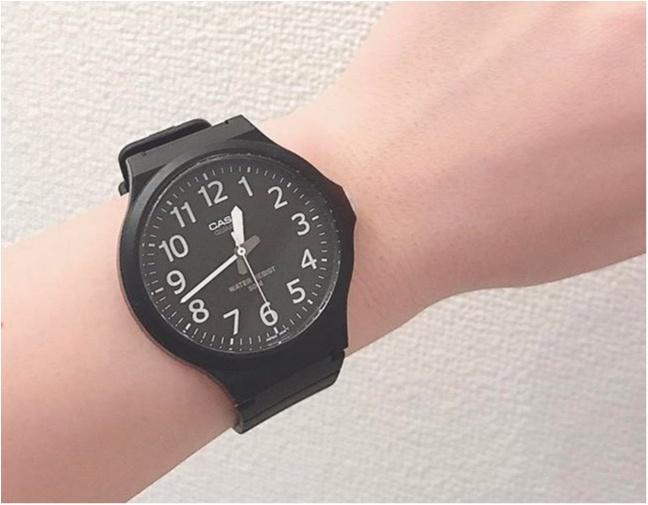 《お洒落さんになりたいならこれ♡》シンプルかわいいCASIOの腕時計はマストハブ!!_1