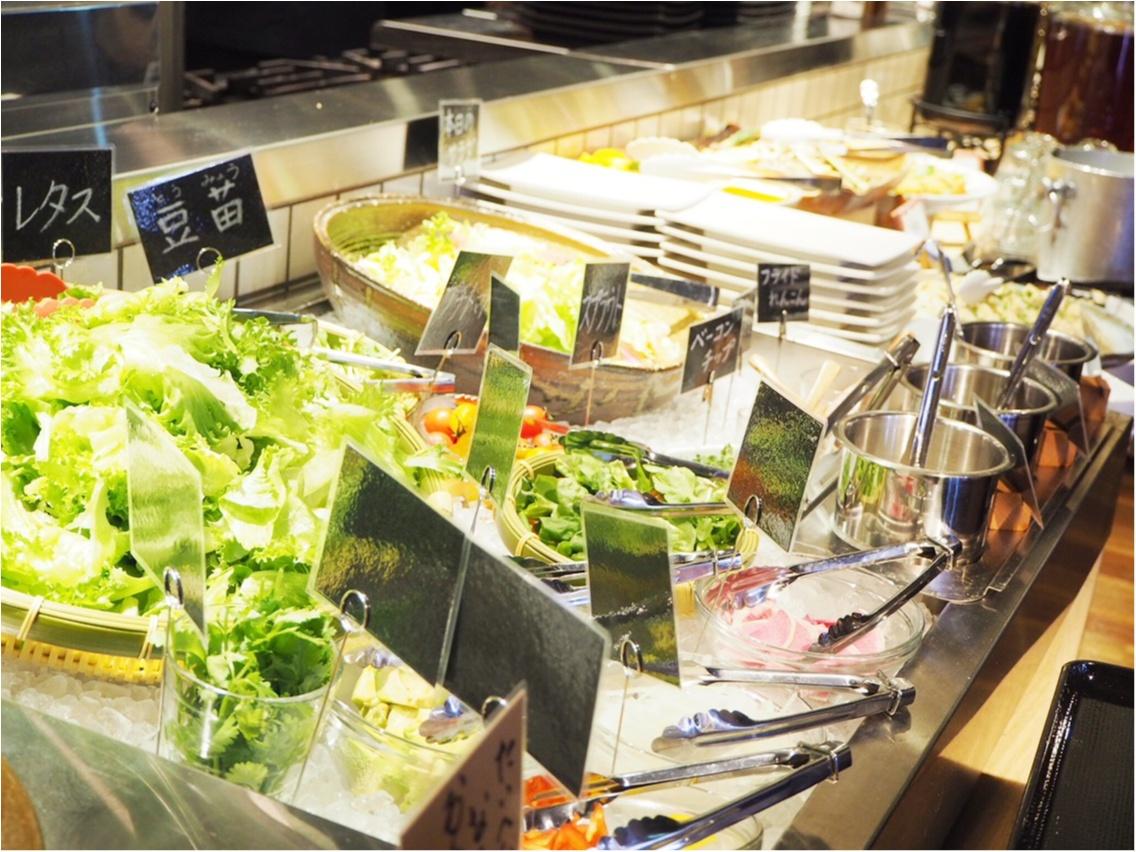 お肉と旬野菜のマリアージュ♡ふうふう亭 緑席_5