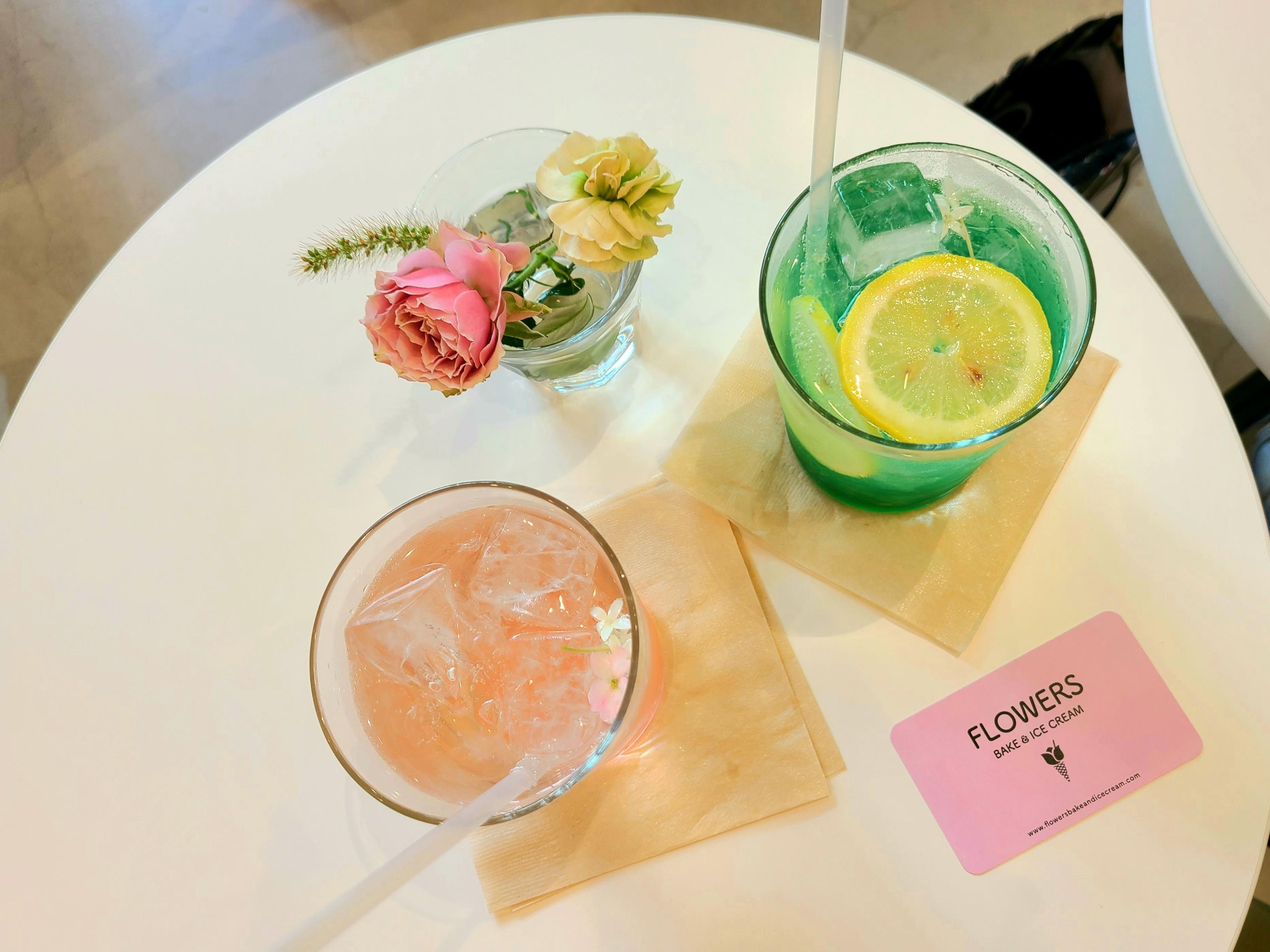 《FLOWERS BAKE&ICE CREAM》お花をコンセプトにしたカフェに行ってきた!@立川_4
