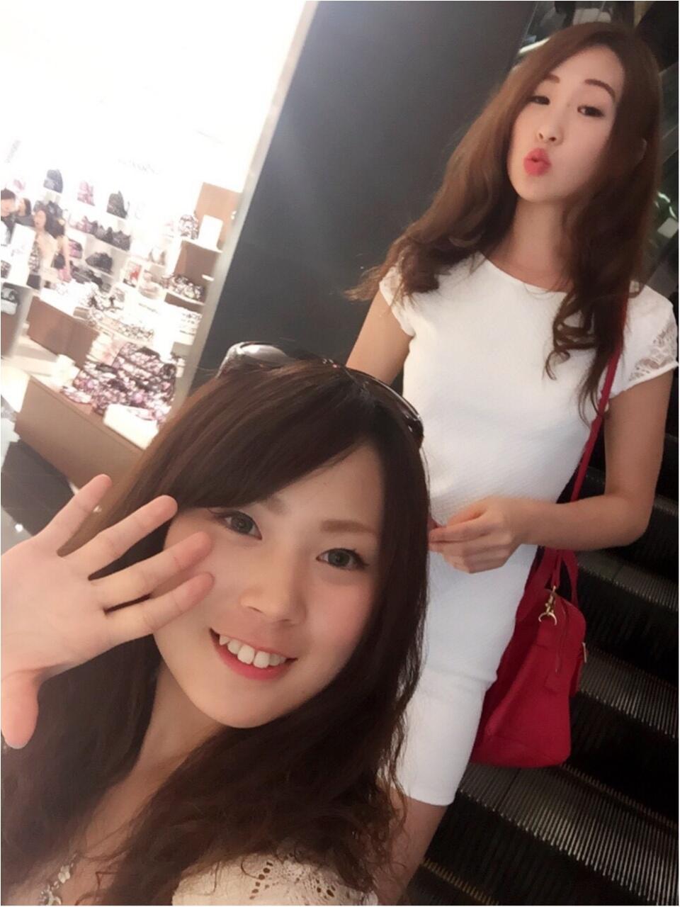 【TRIP】楽しさ2倍♥︎おそろコーデ in GUAM♡&ショッピングにはきれいめタイトワンピースを♡_9