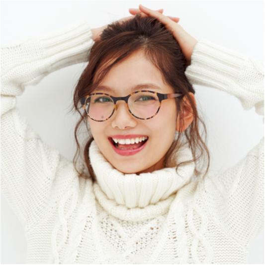 【武智志穂Presents】冬から春に上手にシフトできる「旬小物×ヘアメイク」ーメガネ編ー_2